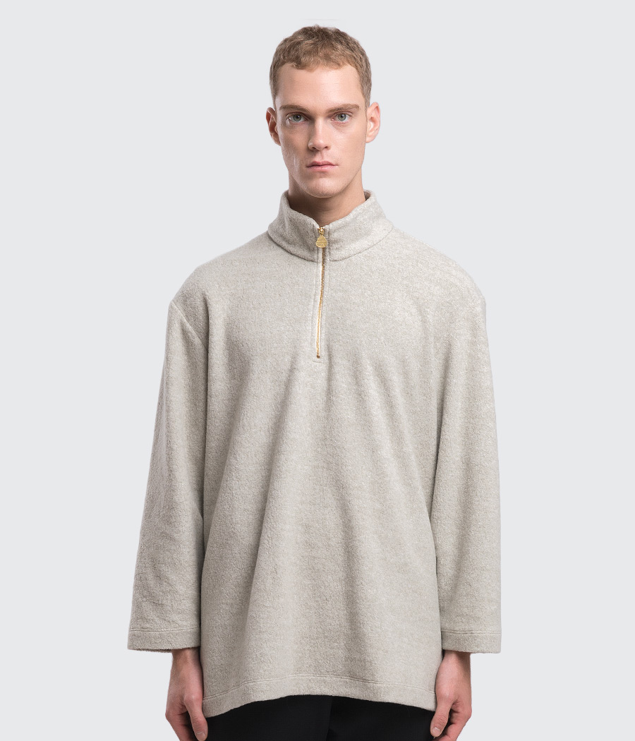 sherpa quarter zip